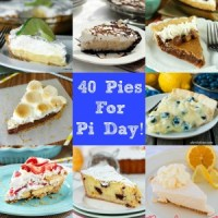 40 Pies for Pi Day