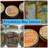 Printable Map Labels