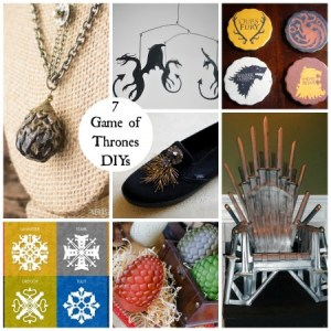 7 Game of Thrones DIY