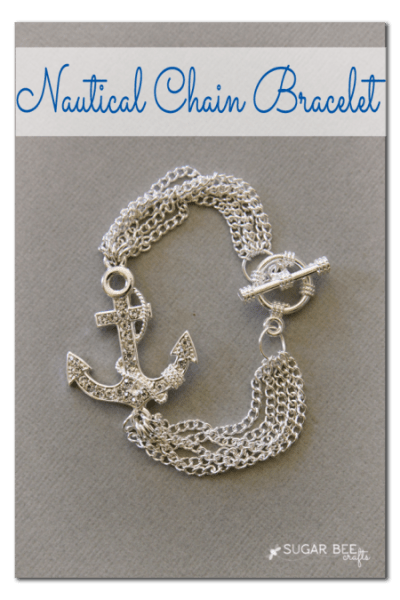 nautical chain bracelet