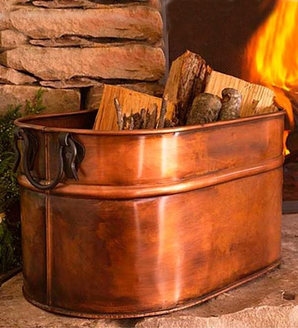 7 Indoor Firewood Storage Solutions – Craft Gossip