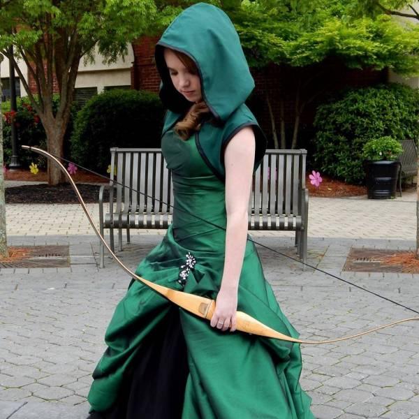 Awesome Green Arrow Hoodie and CostumeGreen Arrow Hoodie