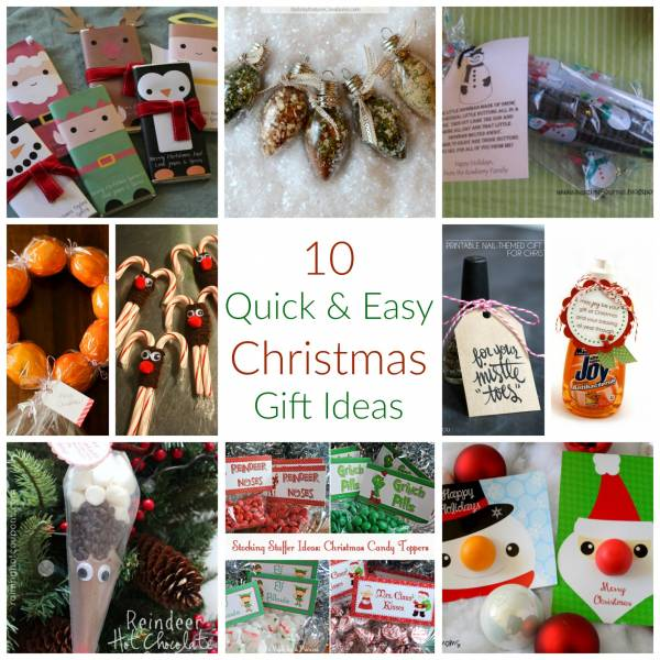 10 quick easy christmas gift ideas craft gossip for Quick easy gift ideas