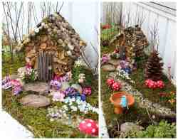 Relieving A Moss Covered Fairy House Year Craft Studio Fairy Garden Kids Fairy Garden Kit Turn An Ordinary Wooden Birdhouse Into An Fairy Housenestled