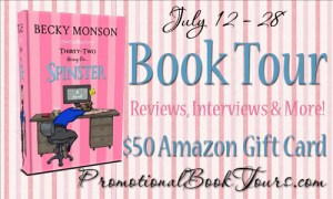 32 Going On Spinster by Becky Monson #booktours #bookreview