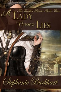 A Lady Never Lies by Stephanie Burkhart #bookreview @goddessfish