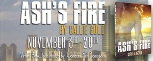 Ash's Fire by Callie Gold #bookReview #giveaway @goddessfish