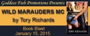 Wild Marauders by Tory Richards #bookBlast @goddessfish