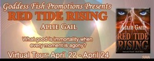 RED TIDE RISING by Allie Gail #giveaway @goddessfish