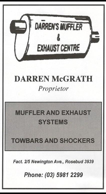 Darrens Mufflers