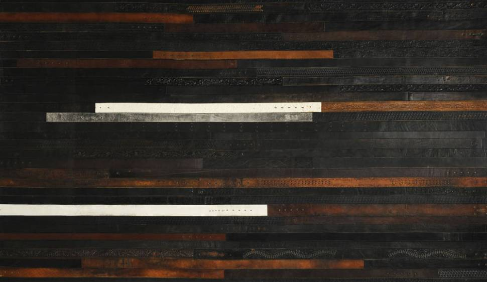 Floor Tiles Made Out Of Recycled Leather Belts Boing Boing