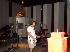Johnny lays the track