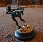 The dual pistol wielding Dedlock miniature