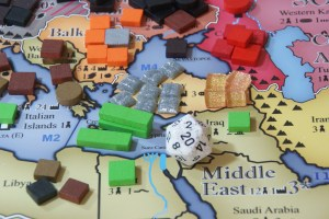 Board Game action in Moral Conflict 1940 in the Mediterranean