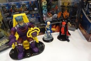The Watcher and other Heroclix figures as well as other Wizkids product from their GAMA Trade Show Booth.