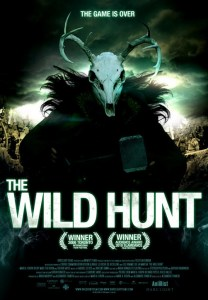 Image displaying horned skull Murtagh on cover of The Wild Hunt