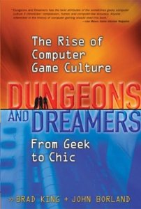 ORange and blue cover for Dungeons and Dreamers