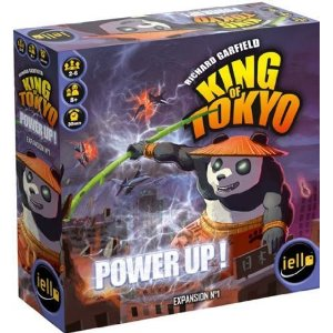 Box Art for King of Tokyo Power Up! Expansion