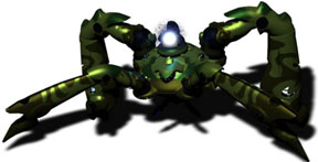Quadrupedal mechanical Starcraft Protoss suit for Dragoon