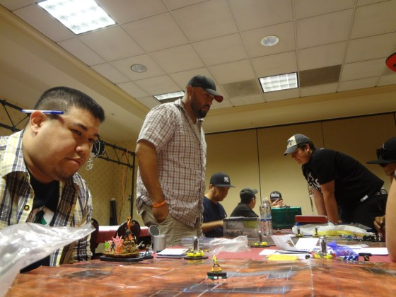 Heroclix Players playing Modern Age Tournament at Las Vegas Comic Expo