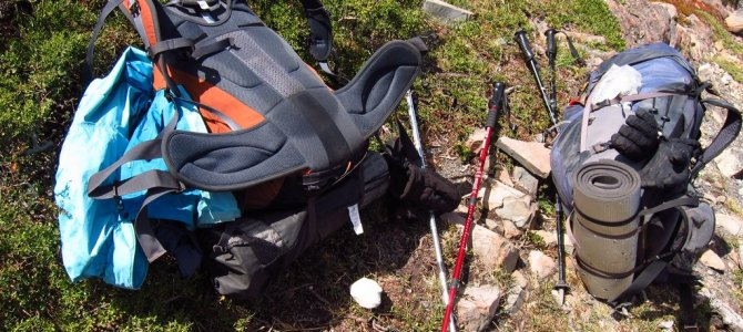 Packing list for the w trek in Patagonia