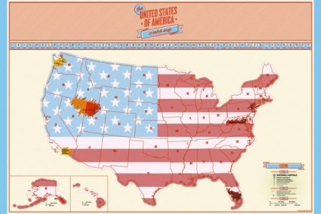 united states scratch off map craziest gadgets