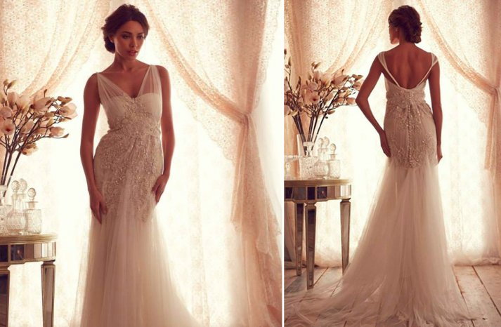 Non-Strapless Wedding Gowns We Love From Bridal Market Fall 2013 – Part III images