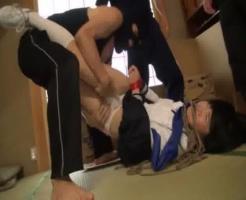 【誘拐レイプ動画】女子高生をターゲットとし下校している女子高生を誘拐するDQN集団