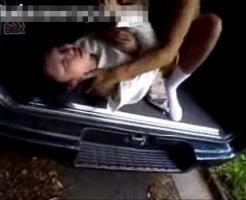 【本物レ●プ動画】ガチ閲覧注意!凶悪レイパーに登校途中を車で拉致られた中●生少女が処女マンコを肉棒で串刺しに・・・