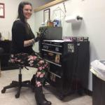 Lacey Miller is the owner of Red Bird Tattoo in Fredonia.
