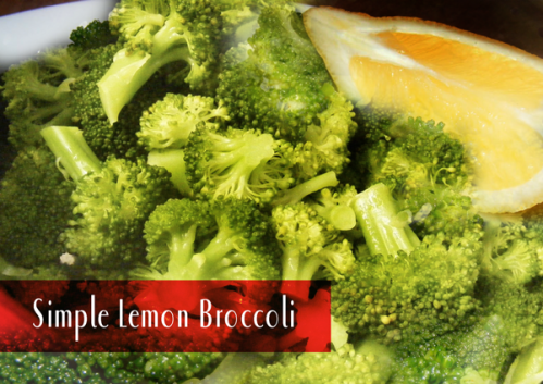 Lemon Broccoli from hautemealz.com