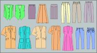 Software para generar moldes de diseños fijos de ropa de mujer