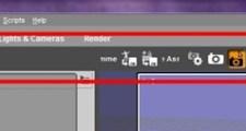 Daz Studio4.9 メニューバーをカスタマイズする
