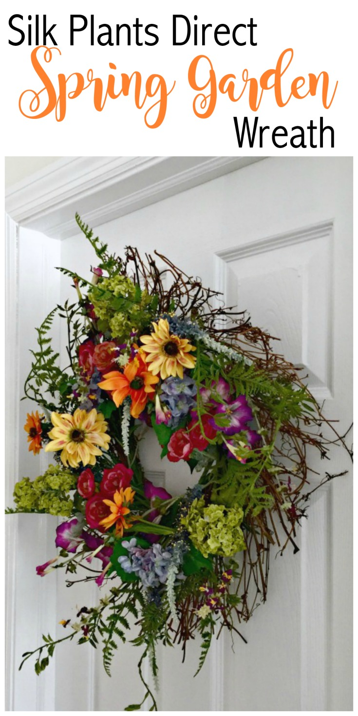 Top Look At This Wreath That I Received From Silk Plants Spring Garden Wreath I Just Love Unfortunately Out Ofstock Silk Flower Wreaths Silk Plants Direct Pine Tree Silk Plants Direct Phalaenopsis Orc houzz 01 Silk Plants Direct