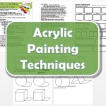Acrylic Painting Techniques Lesson Plan & Worksheets