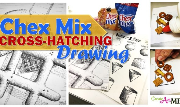 chex-mix-cross-hatching-drawing