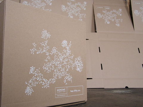 Monome 256 packaging