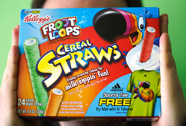 Deep thoughts: FL Studio is a boring name. Fruity Loops was better. You don't want me as your trademark lawyer. FL Studio could show up on stage. Cereal straws are a crazy idea. America is a crazy place. Photo (CC-BY) Michelle Tribe.