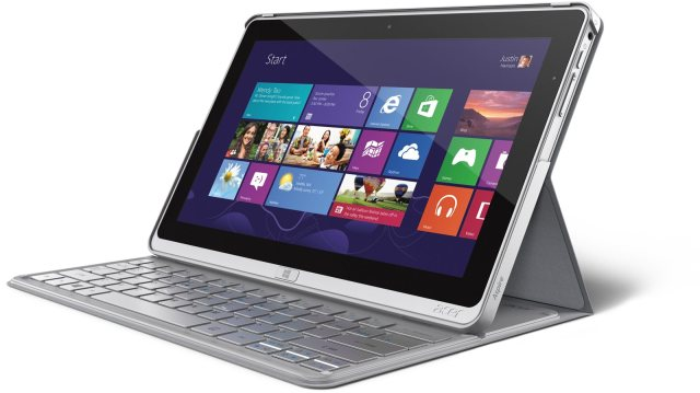 """Acer calls its Aspire P3 an """"ultrabook"""" and not a tablet, while pitching its ability to work in tablet mode. (And you can drop the cover.) It's also lighter than the Surface Pro. What you don't get is the bigger screen size the YouTube reviewer here wanted."""