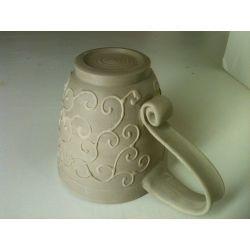 Smothery New Mug Design Ideas Symmetrical Pottery New Mugs Symmetrical Pottery New Mugs Createniks Making Pottery Mug Handles Pottery Mugs Without Handles furniture Pottery Mug Handles
