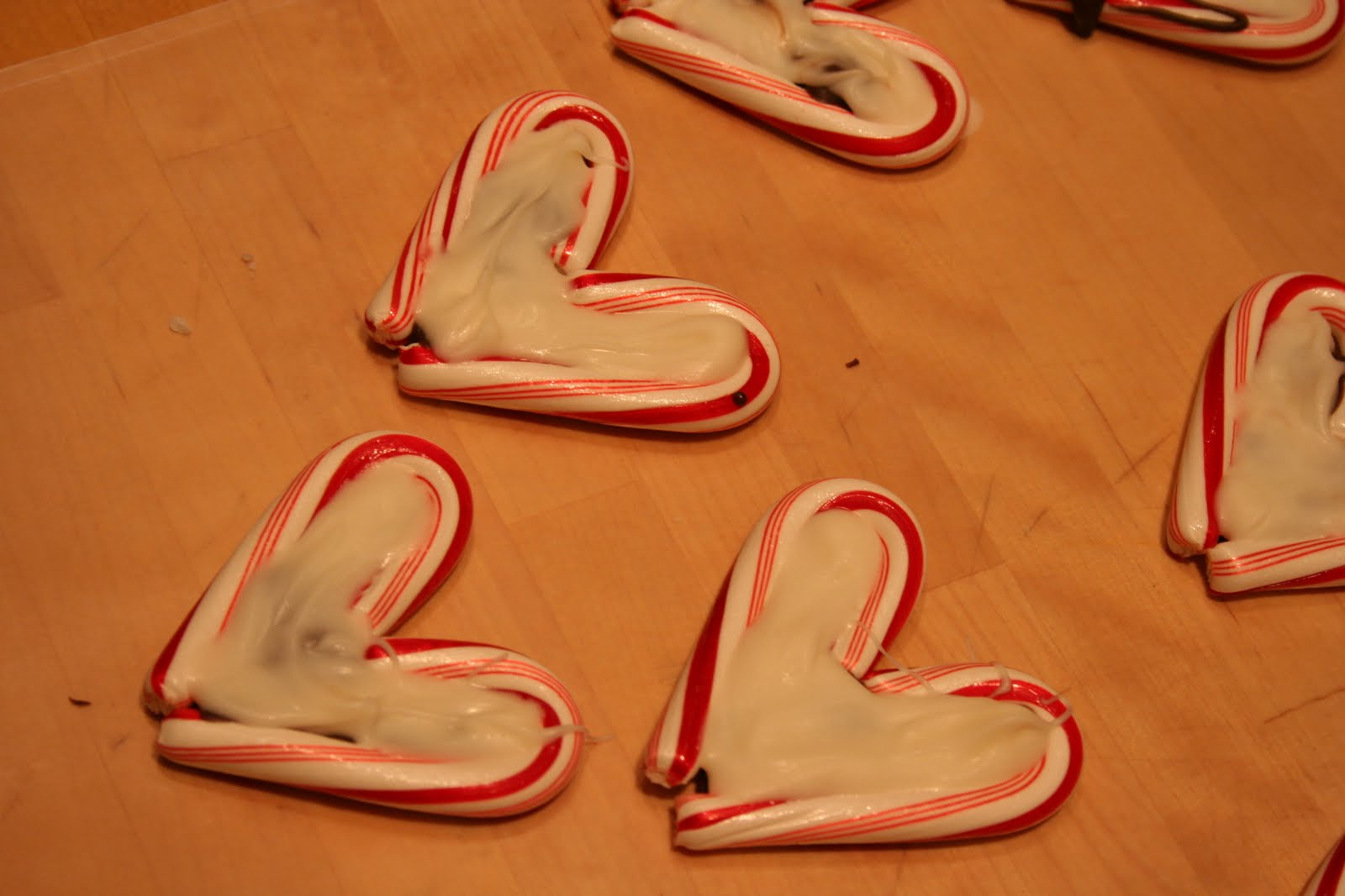 Smothery Candy Cane Hearts Edible Craft Party Food Ideas Candy Cane Crafts Kindergarten Candy Cane Crafts To Sell baby Candy Cane Crafts