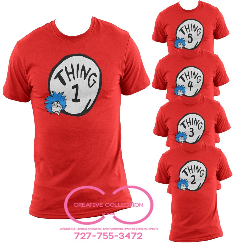 Large Of Thing 1 And 2
