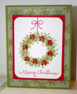 Arresting Copy Card Wreath Using Snowflake Stamp Cards Ideas Ks1 Family Go Cards