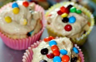 Cookie Cupcakes With Cookie Dough Icing Recipe