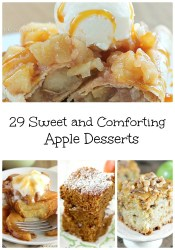 Sweet and Comforting Apple Desserts