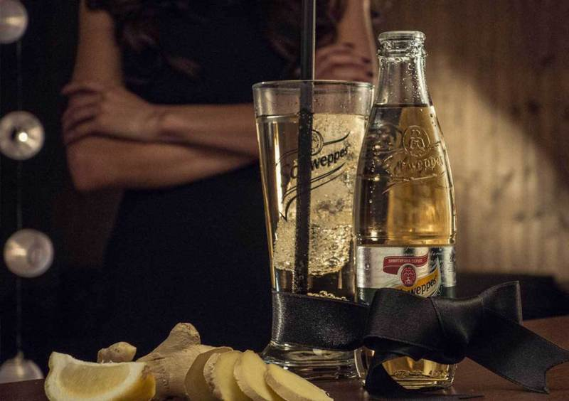 Schweppes -Making-of TVC