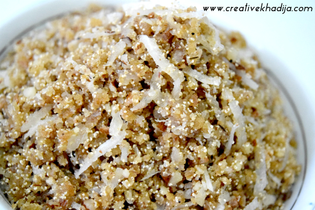 coconut panjeeri sweet pakistani recipes