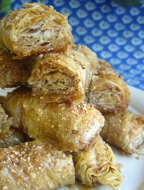 This sweet Almond Baklava is for those with a real sweet tooth.