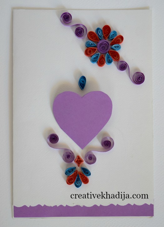 paper quilling cards making ideas for eid and birthday