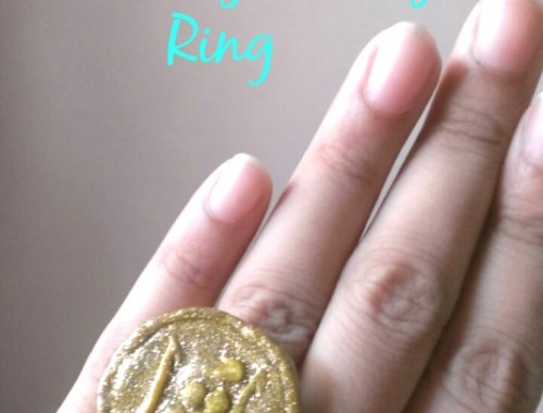 how to make customized clay ring